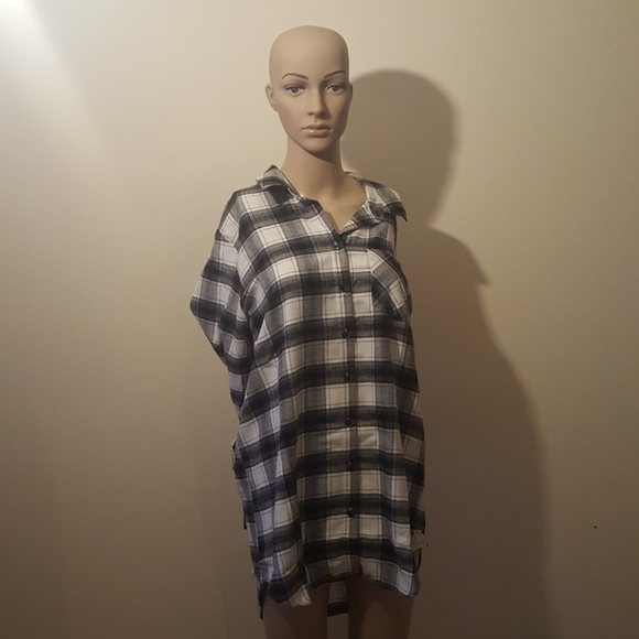 Tops - Flannel Nightshirt